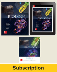 Raven, Biology, 2017, 11e (AP Edition) AP Advantage Deluxe Print and Digital bundle (Student Edition, AP Focus Review Guide, ONboard, Online Student Edition, SCOREboard), 6-year subscription
