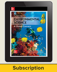 Cunningham, Environmental Science © 2018, 14e (AP Edition) AP advantage Digital Student Subscription (ONboard, Online Student Edition, SCOREboard), 6-year subscription