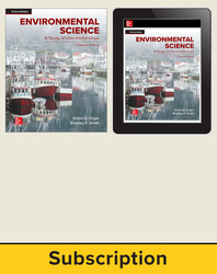 Enger, Environmental Science, 2019, 15e, Student Bundle (Student Edition, Online Student Edition), 1-year subscription