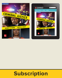 Bohm, Introduction to Criminal Justice © 2018, 9e, Standard Student Bundle (Student Edition with Connect®), 6-year subscription