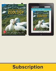 Hickman, Integrated Principles of Zoology © 2017, 17e (Reinforced Binding) Standard Student Bundle (Student Edition with Connect®), 6-year subscription
