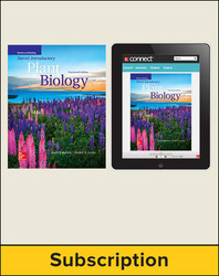 Bidlack, Stern's Introduction to Plant Biology © 2018, 14e, Standard Student Bundle (Student Edition with Connect®), 6-year subscription