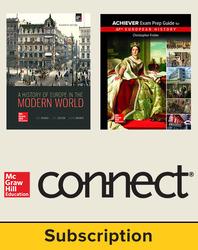 Freiler, AP Achiever Exam Prep Guide European History, © 2017, 2e, Premium Print Bundle (Palmer Student Edition, Freiler AP Achiever Student Edition with Connect®), 6-year subscription