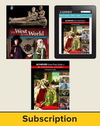 Freiler, AP Achiever Exam Prep Guide European History, © 2017, 2e, Premium Print Bundle (Sherman Student Edition, Freiler AP Achiever Student Edition with Connect®), 6-year subscription