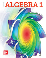 Glencoe Algebra 1, Student Print Set (5 Hardcover Student Editions)