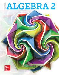 Glencoe Algebra 2 2018, Student Print Set (5 Hardcover Student Editions)