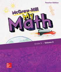 McGraw-Hill My Math, Grade 5, Teacher Edition, Volume 2