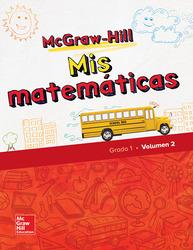 McGraw-Hill My Math, Grade 1, Spanish Student Edition, Volume 2