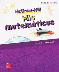 McGraw-Hill My Math, Grade 5, Spanish Teacher Edition, Volume 2