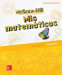 McGraw-Hill My Math, Grade K, Spanish Teacher Edition, Volume 2