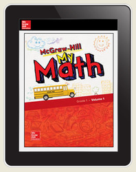 McGraw-Hill My Math, Student Center 5 Year Subscription Grade 1
