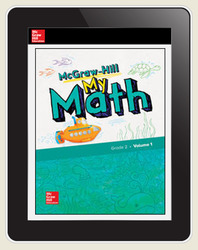 McGraw-Hill My Math, Student Center 5 Year Subscription Grade 2