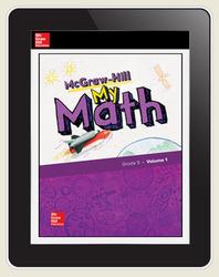 McGraw-Hill My Math, Student Center 5 Year Subscription Grade 5