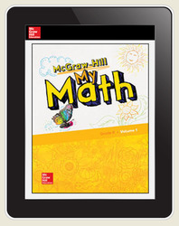 McGraw-Hill My Math, Student Center 5 Year Subscription Grade K