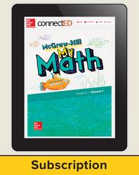McGraw-Hill My Math, Student Center 1 Year Subscription Grade 2