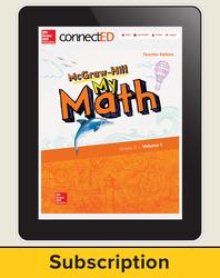 McGraw-Hill My Math, Teacher Center 1 Year Subscription Grade 3