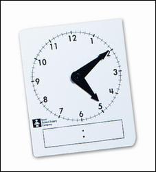 My Math and Reveal Math Student Clocks, Pkg of 15