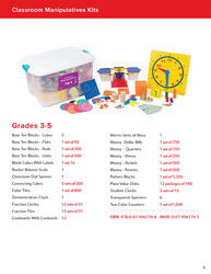 My Math Manipulative Kit, Grades 3-5