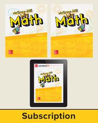 McGraw-Hill My Math 2018 5-year Student Bundle, Grade K