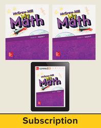 McGraw-Hill My Math 2018 5-year Student Bundle, Grade 5