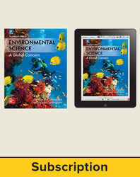 Cunningham, Environmental Science © 2018, 14e (AP Edition) Student Bundle (Student Edition with ConnectED eBook), 1-year subscription