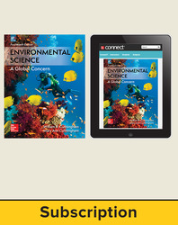 Cunningham, Environmental Science © 2018, 14e (AP Edition) Standard Student Bundle (Student Edition with Connect®), 1-year subscription