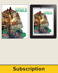 Discovering Our Past: A History of the World, Student Suite with LearnSmart, 7-year subscription