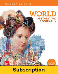 World History and Geography, Teacher Suite with LearnSmart, 7-year subscription