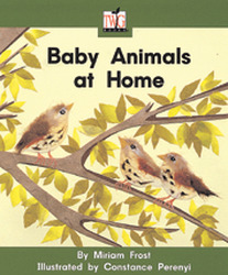 TWIG, (Level F) Baby Animals at Home Big Book