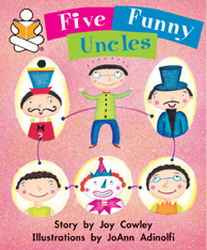 Story Box, (Level J) Five Funny Uncles
