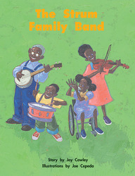 Story Basket, The Strum Family Band Big Book