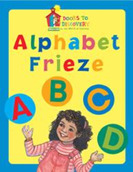 Doors to Discovery, Alphabet Frieze