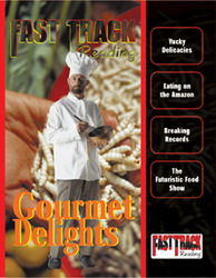 Fast Track Reading, Magazine Anthology: Gourmet Delights, 6-pack