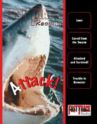 Fast Track Reading, Magazine Anthology: Attack!, 6-pack
