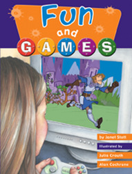 Wright Literacy, Fun and Games (Early Fluency) Big Book