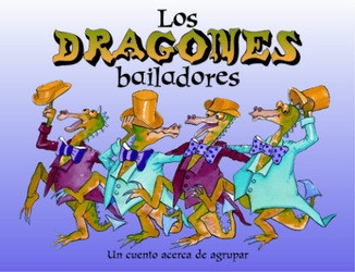 Growing with Math, Grade Pre-K, Math Literature: The Dancing Dragons / Los dragones bailadores Big Book(Matching)