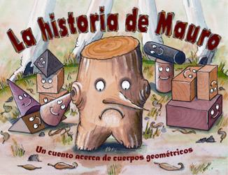 Growing with Math, Grade Pre-K, Math Literature: Wayne's New Shape / La historia de Mauro Big Book (3-D Shapes)