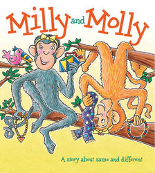 Growing with Math, Grade Pre-K, Literature: Milly and Molly Concept Lap Book