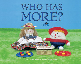 Growing with Math, Grade Pre-K, Math Literature: Who Has More Concept Lap Book