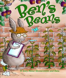 Growing with Math, Grade K, Math Literature: Ben's Beans Big Book (Measurement & Data)