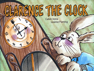 Growing with Math, Grade 1, Math Literature: Clarence the Clock Big Book (Time on the Hour)
