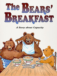Growing with Math, Grade 1, Math Literature: The Bears' Breakfast Big Book (Measuring Capacity)