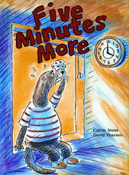 Growing with Math, Grade 2, Math Literature: Five Minutes More Time Big Book (Time Past the Hour)