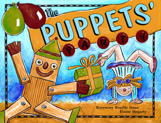 Growing with Math, Grade Pre-K, Math Literature: The Puppets' Party (Counting to Ten), Big Book