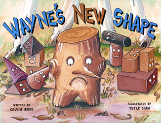 Growing with Math, Grade Pre-K, Math Literature: Wayne's New Shape Big Book (3-D Shapes)