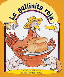 Storyteller, Spanish, Moon Rising, (Level F) The Little Red Hen, La gallinita roja 6-pack