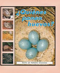Storyteller, Spanish, First Snow, (Level F) What Lays Eggs?, ¿Quiénes ponen huevos? 6-pack