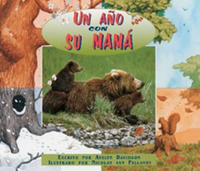 Storyteller, Spanish, Setting Sun, (Level H) A Year With Mother Bear, Un año con su mamá 6-pack