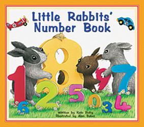 Storyteller Concept Books, Little Rabbit's Number Book