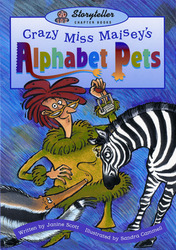 Storyteller Chapter Books, Lightning Bolts, Crazy Miss Maisey's Alphabet Pets 6-pack